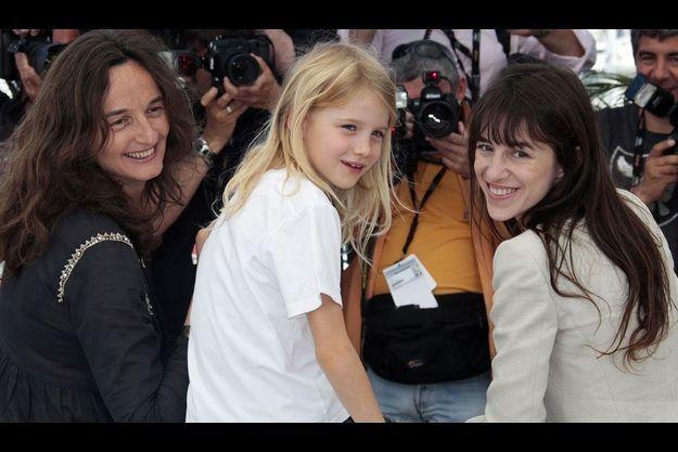 Julie Bertolucci, Charlotte Gainsbourg et Morgana Davies
