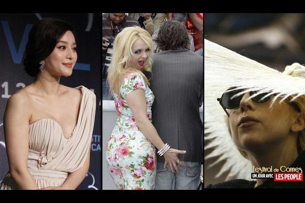 Fan Bingbing, Mimi Le Meaux et Mathieu Amalric, Lady GaGa.