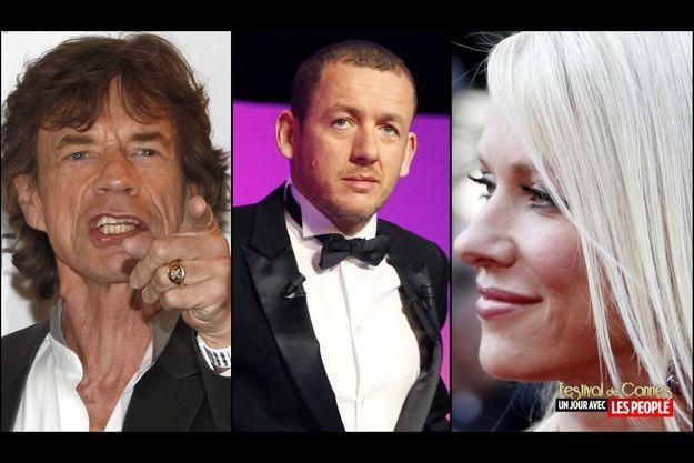 Mick Jagger, Dany Boon, Naomi Watts