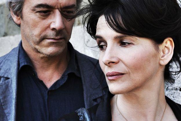 William Shimell et Juliette Binoche.