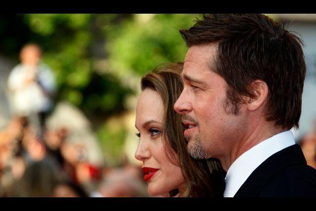 Brad Pitt et Angelina Jolie, au Festival de Cannes en 2009.