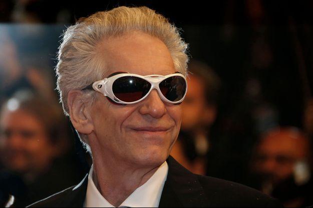 """David Cronenberg, à Cannes, lors de la présentation de """"Maps to the Stars""""."""