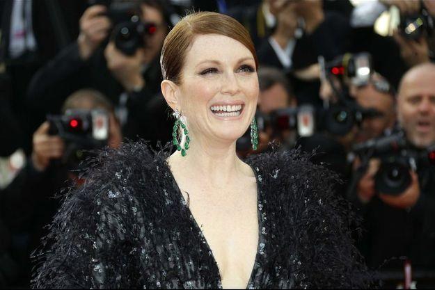 Julianne Moore a déclaré ouvert le 68e Festival de Cannes.