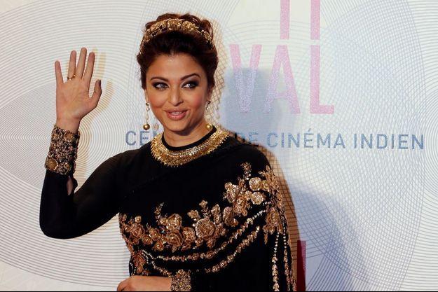 La sublime actrice indienne Aishwarya Rai
