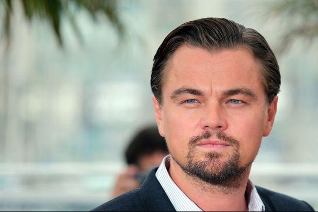 """Leonardo DiCaprio, lors du photocall de """"Gatsby le magnifique"""""""
