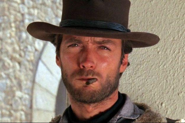 """Clint Eastwood dans """"Pour une poignée de dollars""""."""
