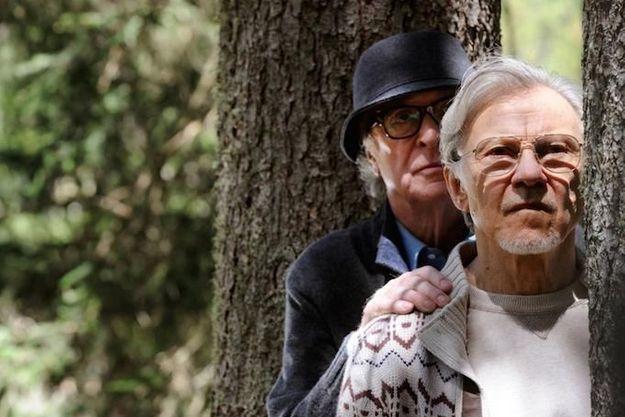 """Michael Caine et Harvey Keitel dans """"Youth"""" de Paolo Sorrentino."""