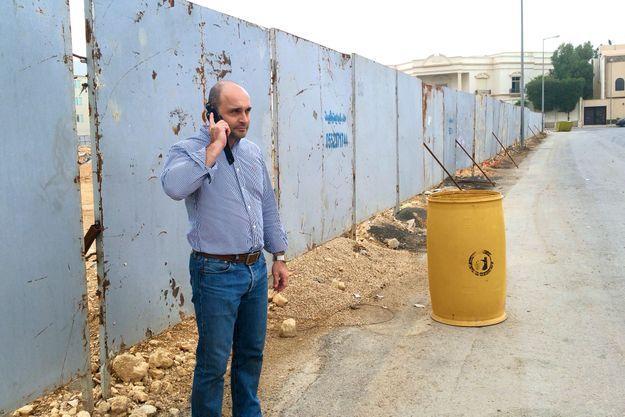 Rémy Catusse, 39 ans, architecte paysagiste pour Saudi Oger