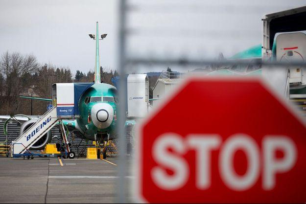 Un Boeing 737 MAX dans l'usine de Renton, dans l'Etat du Washington, le 16 décembre dernier.