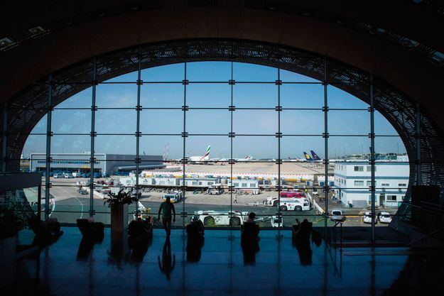 Le terminal 2E de l'aéroport Roissy-Charles de Gaulle.