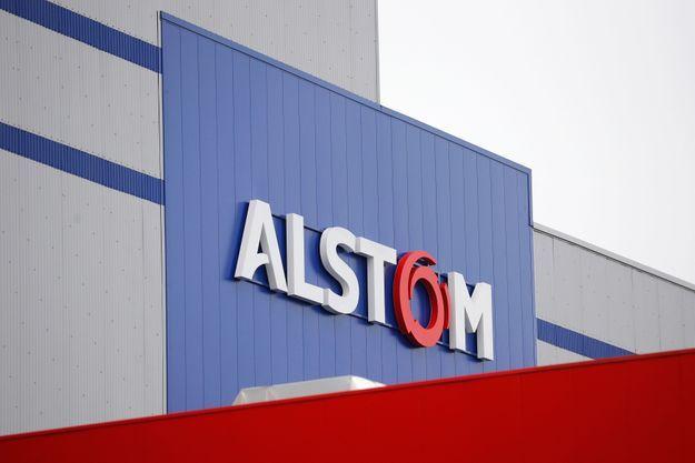 Une usine Alstom où sont fabriquées des éoliennes.