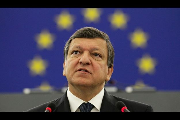 José Manuel Barroso au Parlement européen.