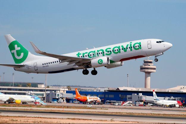 Un Boeing de Transavia à Palma de Majorque en juillet 2018.