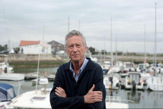 Olivier Blanchard à l'île de Ré, le 22 décembre.