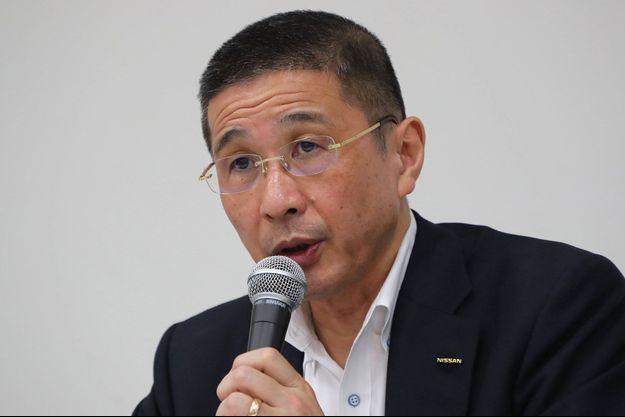 Hiroto Saikawa au siège de Nissan, près de Tokyo, en septembre 2019.