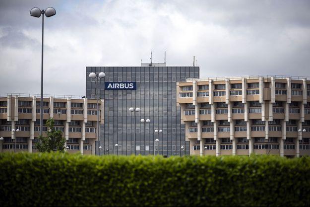 Un bâtiment de l'usine Airbus de Toulouse, le 13 mai dernier.