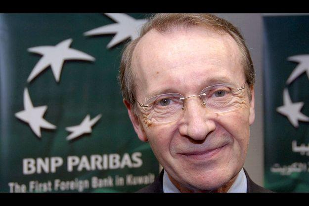 Pour Michel Pébereau, président de BNP Paribas, les plus grandes banques françaises ont gagné de l'argent en 2008 grâce à la qualité de leur gestion leur large assise dans le domaine de la banque de détail.
