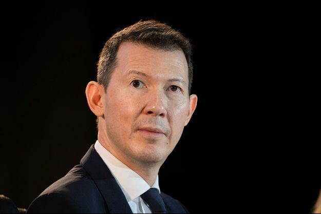 Benjamin Smith le 20 février lors de la présentation des résultats d'Air France-KLM à Roissy.
