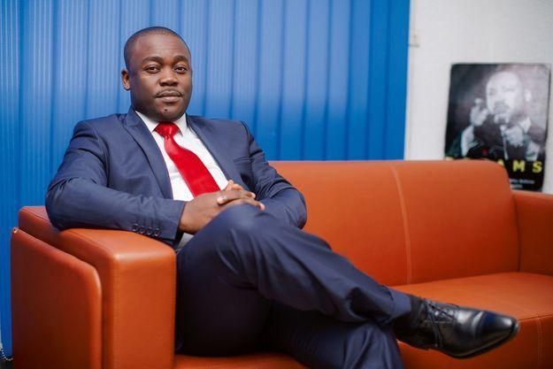 Bony Dashaco, le patron du groupe Acmar à Douala, le 12 mars.