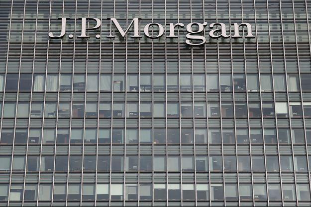 Des locaux de JPMorgan Chase à Londres en 2016.