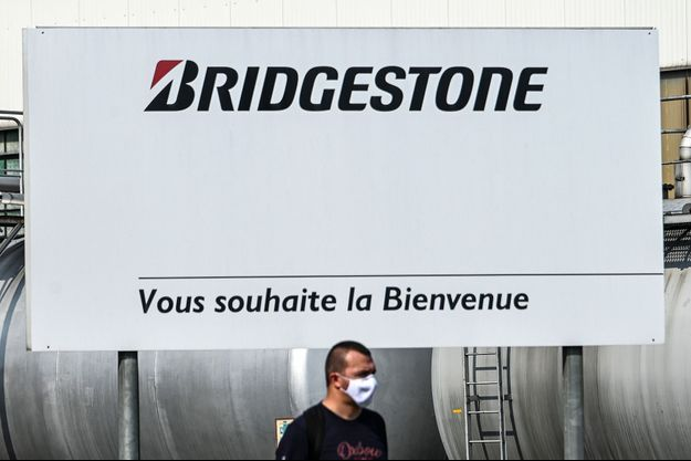 L'usine de Bridgestone à Béthune.