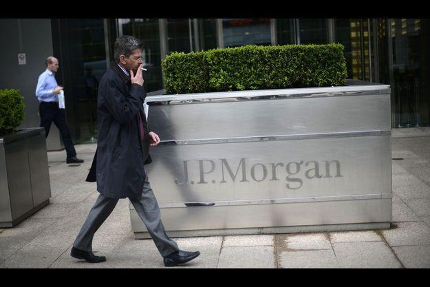 Les bureaux londoniens de JP Morgan, dans le quartier de Canary Wharf.