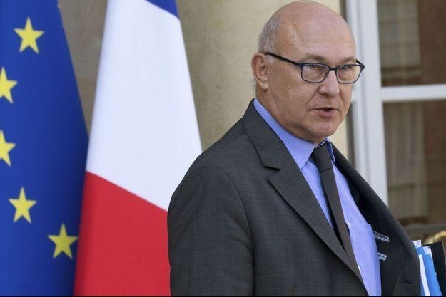 Le ministre de l'Economie et des Finances Michel Sapin à l'Elysée le 1er octobre dernier.