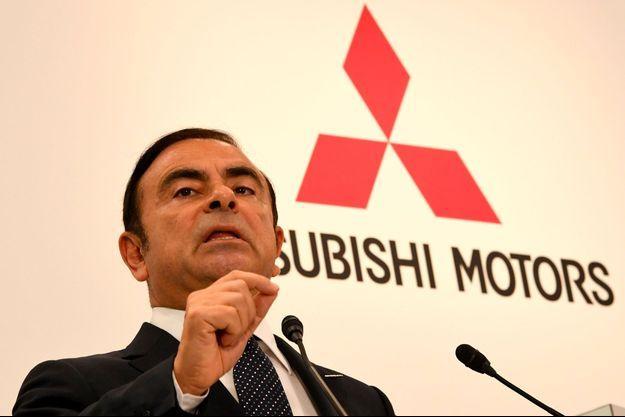 Carlos Ghosn à Tokyo en octobre 2016.
