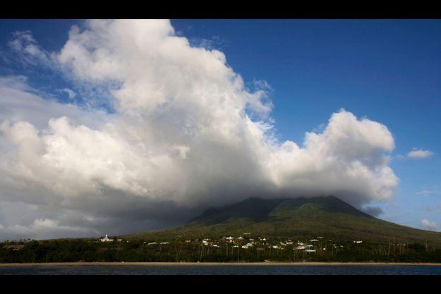 La petite île de Nevis, dans les Caraïbes.