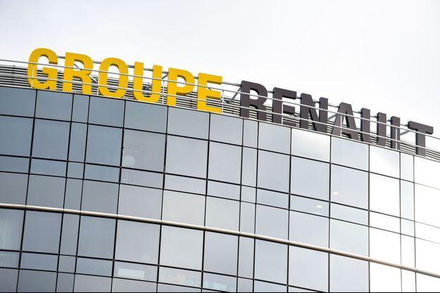 Le siège du groupe Renault à Boulogne-Billancourt, lundi.