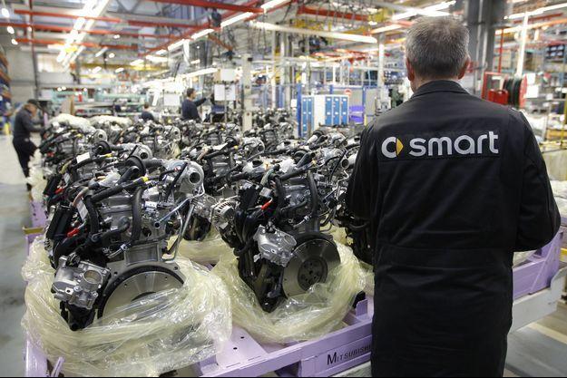 Les employés de l'usine Smart France devront se décider sur le passage, ou non, aux 39 heures.