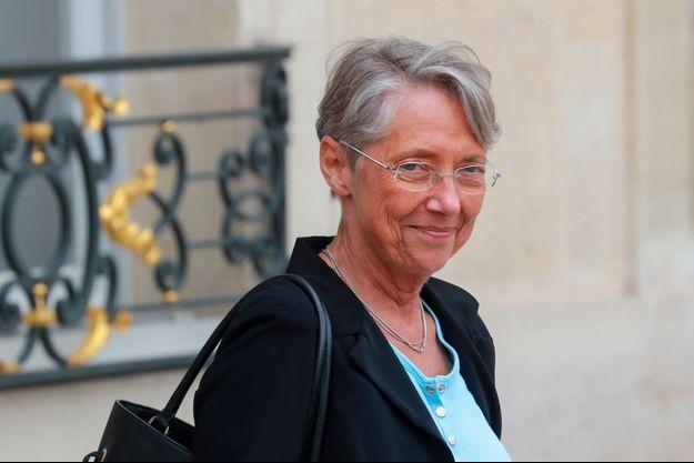 Elisabeth Borne à l'Elysée mercredi.
