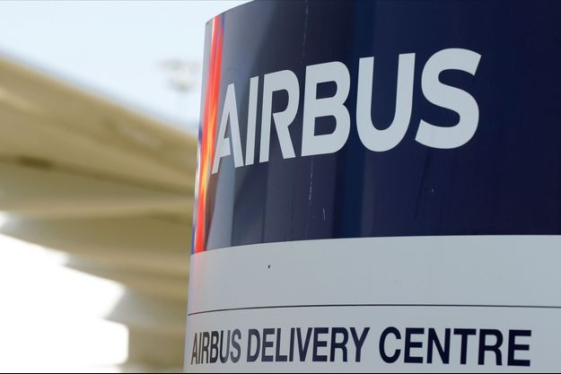 Un logo Airbus.