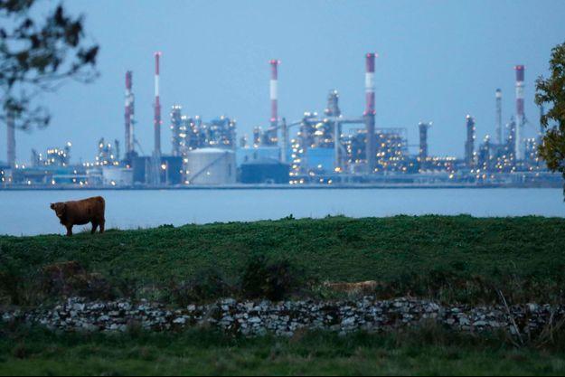 La raffinerie Total de Donges, en octobre dernier.
