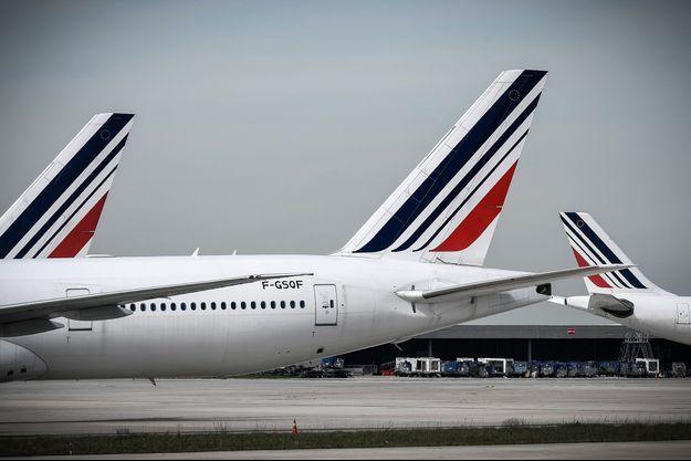 Avions d'Air France à l'aéroport de Roissy en 2018 (photo d'illustration).