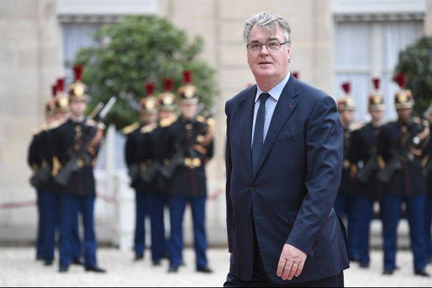 Jean-Paul Delevoye à l'Elysée, le 14 mai 2017.