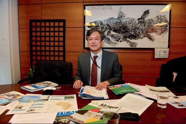 Tomoharu Otake, représentant en France de l'Agence japonaise de coopération internationale.