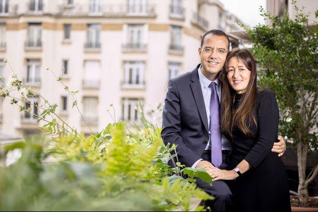 Moez-Alexandre et Soraya Zouari.