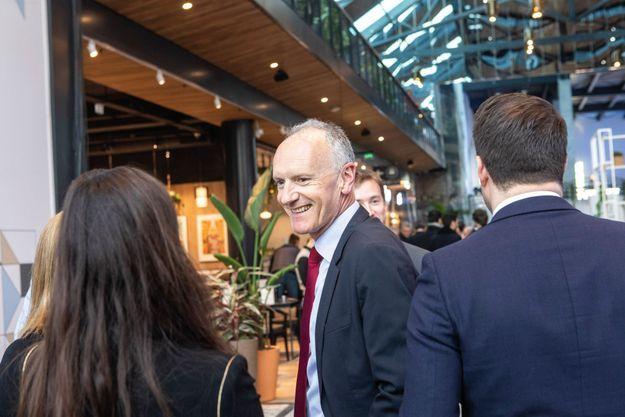 Christophe Cuvillier, 56 ans, est président du directoire d'UnibailRodamco-Westfield.