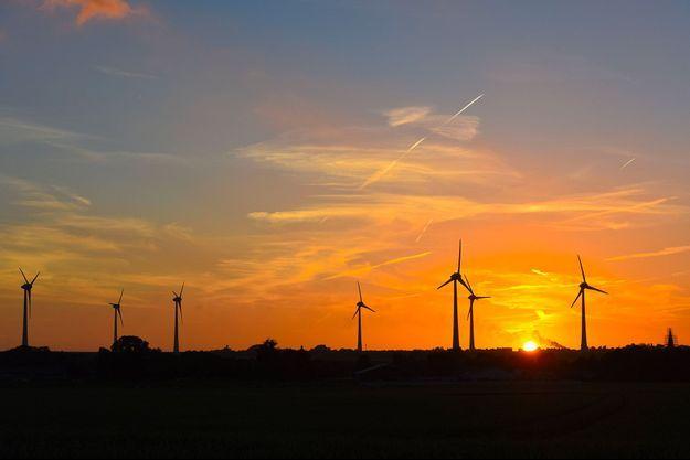 Des éoliennes au Royaume-Uni.