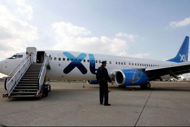 Avion de la compagnie XL Airways.