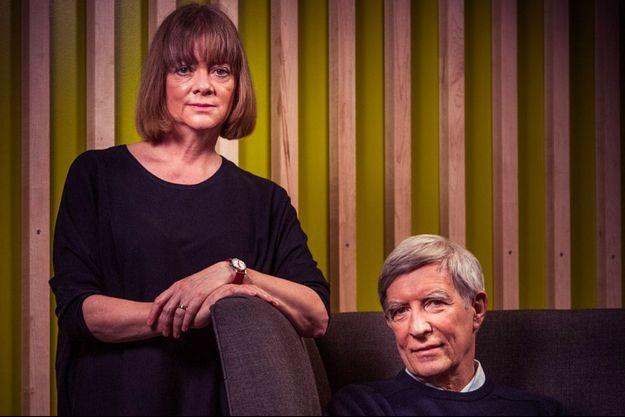 """Kate Pickett et Richard Wilkinson, auteurs de """"Pour vivre heureux, vivons égaux"""", éd. Les Liens qui Libèrent."""