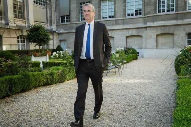 Au siège de la Banque de France, à Paris, le 22 juillet.