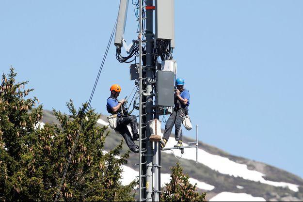 Une antenne 5G (photo d'illustration)