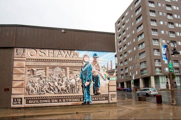 Le site de General Motors à Oshawa à Canada.