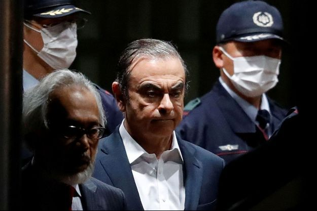 Carlos Ghosn en avril dernier.