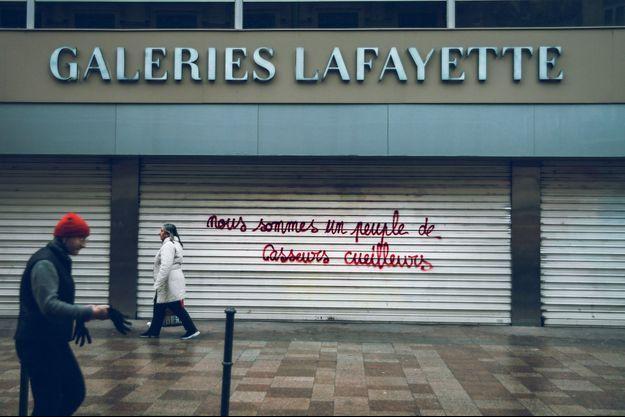 Les Galeries Lafayette à Toulouse, le 2 février.
