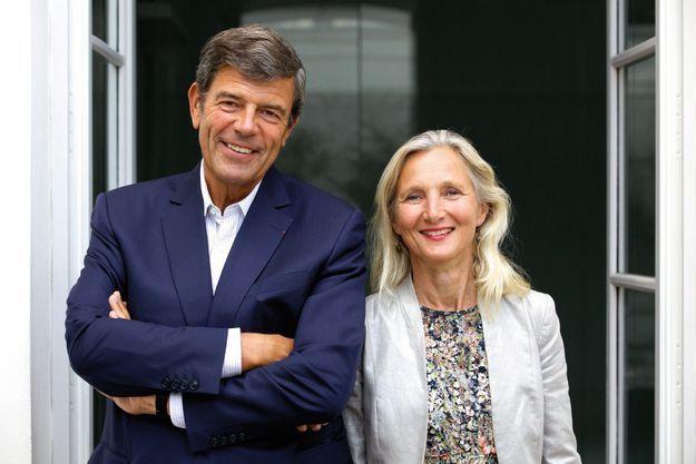Gonzague de Blignières et Clara Gaymard