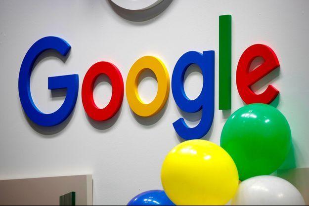 Un logo Google à Viva Tech en 2019 (photo d'illustration).