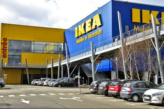 Magasin Ikea à Grenoble (photo d'illustration).